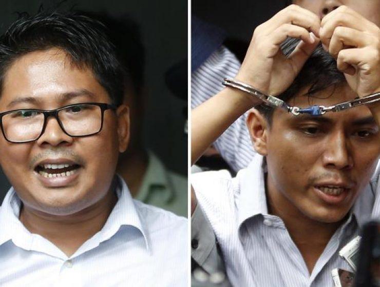 Birmania, niente libertà per i due giornalisti di Reuters - MasterX