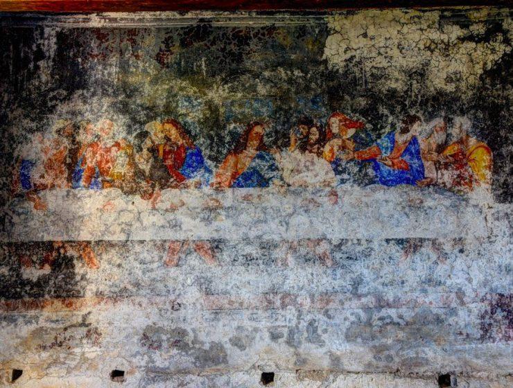 Copia dell'Ultima Cena di Leonardo scoperta in Calabria
