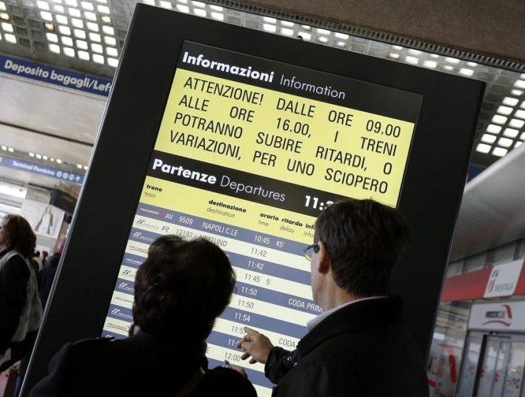 Nuovo sciopero Trenitalia indetto dal sindacato Orsa: caos per i pendolari - MasterX