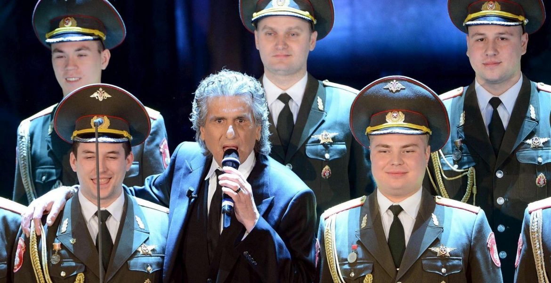 Toto Cotugno come Al Bano. Pericoloso per l'Ucraina