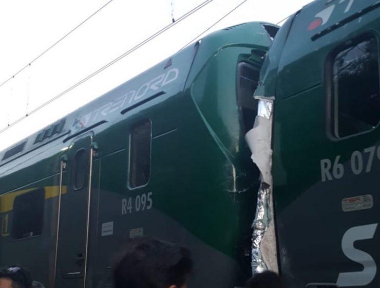 Como, scontro tra due treni: più di 50 passeggeri feriti-MasterX