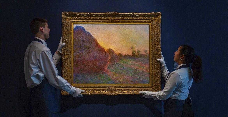 New York, asta record: 110 milioni per un Monet