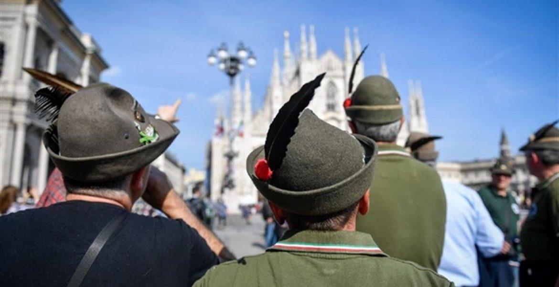 Milano, all'adunata dell'Ana 500mila alpini e 120mila visitatori