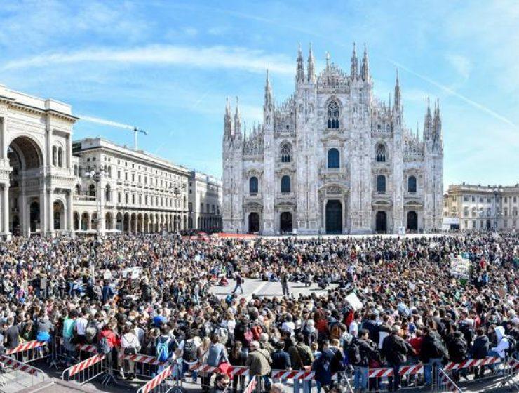 Milano, il corteo di Fridays for future ritorna in piazza