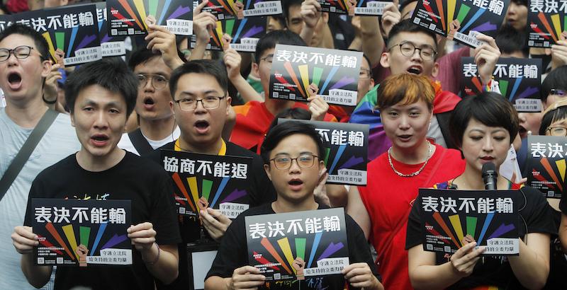 Taiwan, il Parlamento legalizza i matrimoni gay: prima volta in Asia