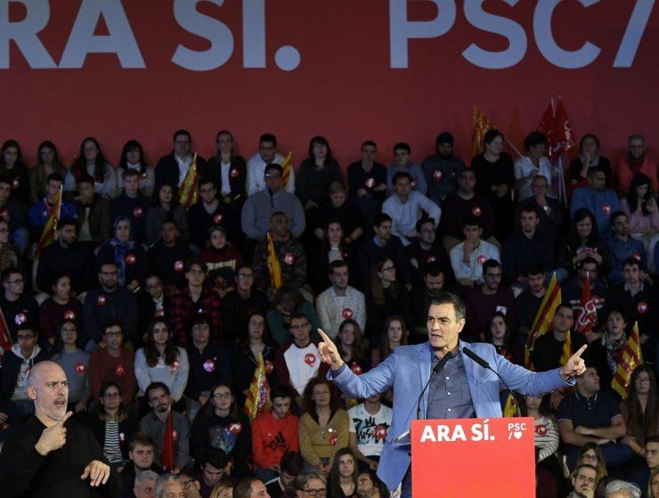 Spagna, i socialisti vincono ma il PSOE non trionfa