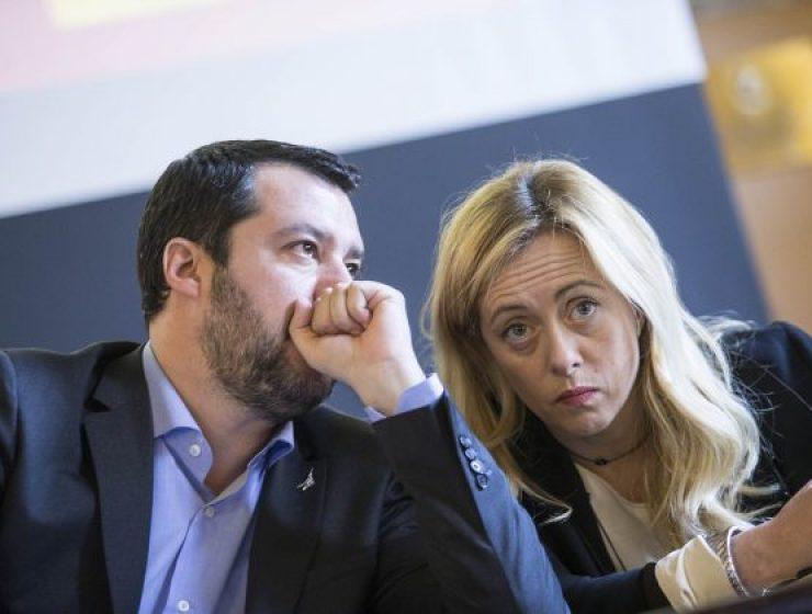 Tensione nel centrodestra, Meloni contro Salvini