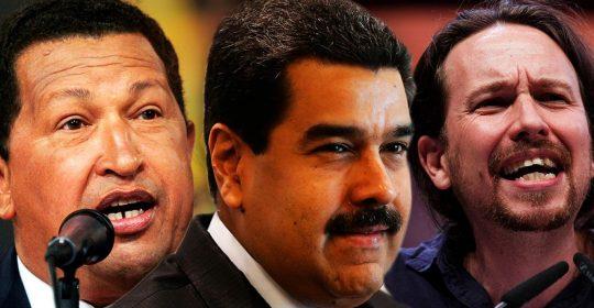 """Iglesias e il """"modello"""" Venezuela: l'eredità chavista arriva in Spagna"""
