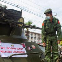 Continua ad aumentare la violenza delle repressioni in Myanmar